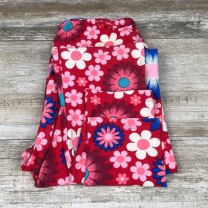 Lularoe floral one size leggings